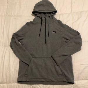 Nike Pullover 3/4 Zip Hoodie